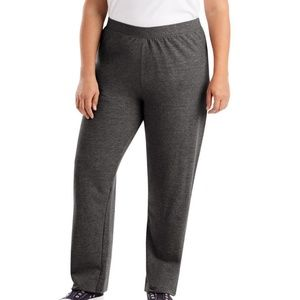 NWT JMS Fleece Open-Leg Sweatpants Sz 4X (26W-28W)